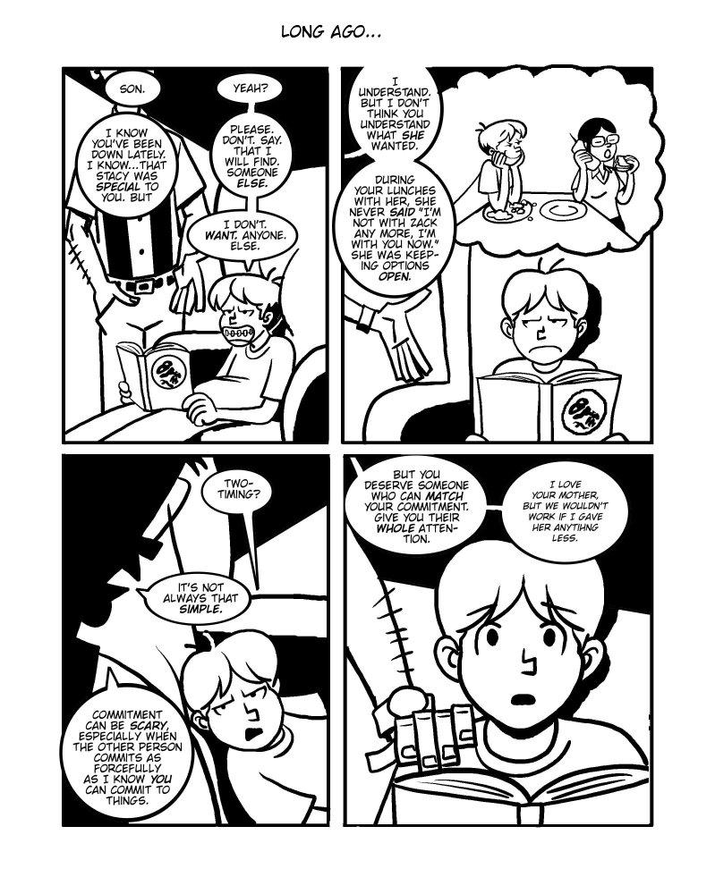 [Comic: Three 1 of 30]